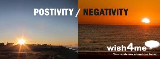 positivity negativity
