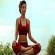 Anahata Chakra Baddha Hasta Virabhadrasana Step 4