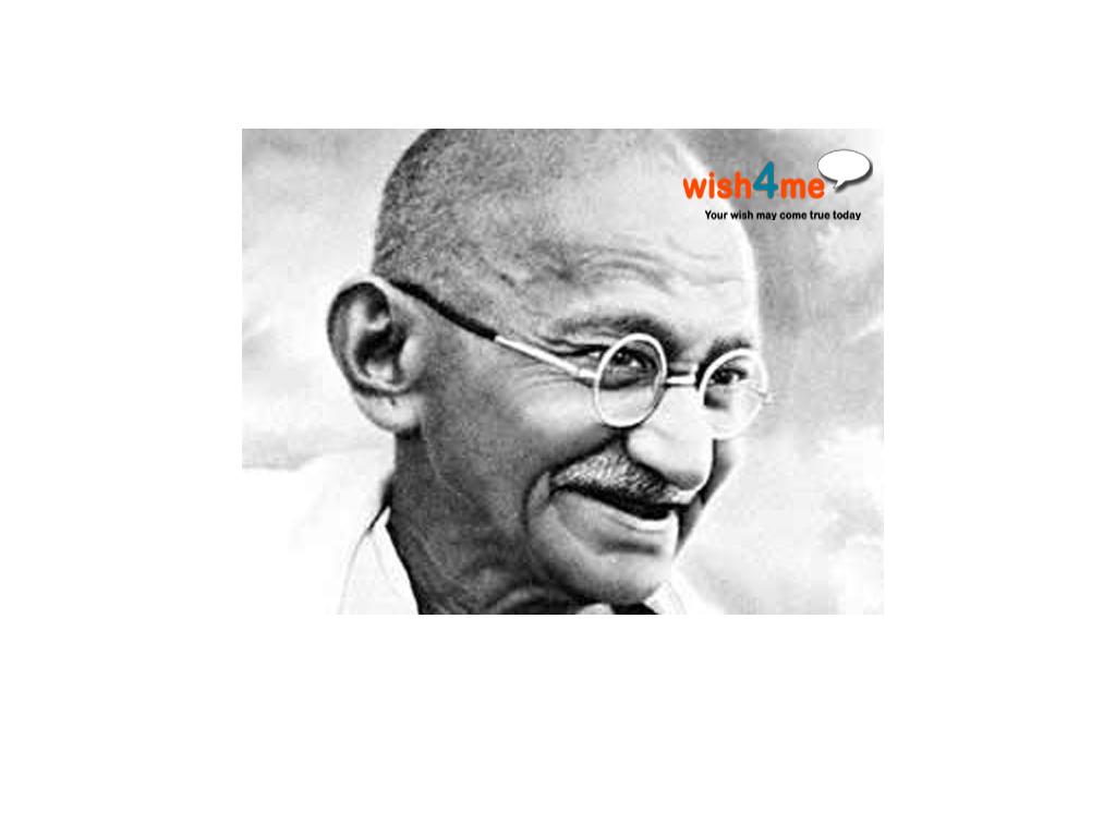 Mahatma Gandhi's