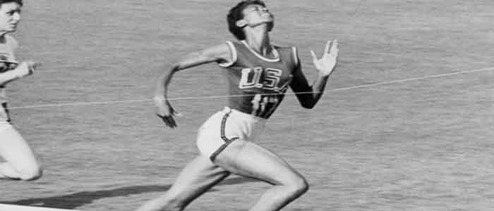 Expectancy and freshness were the examples of Wilma Rudolph