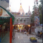 the temple of Hanuman ji,