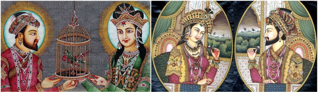 Shah-Jahan-Mumtaz-Mahal